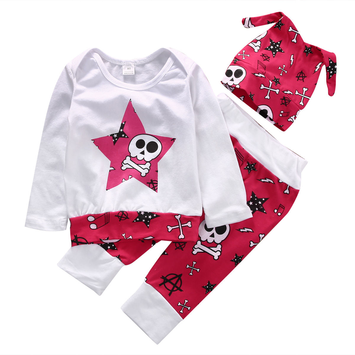 Skull Baby Clothes Cheap