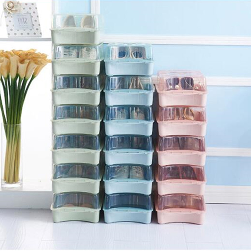 Multifunctional Storage Box Thicken Transparent Plastic Stackable