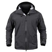 Men Military jacket Hardshell Camouflage Army Autumn Jacket and Coat for men Multicam Waterproof Windbreaker Rain Coats S 2XL