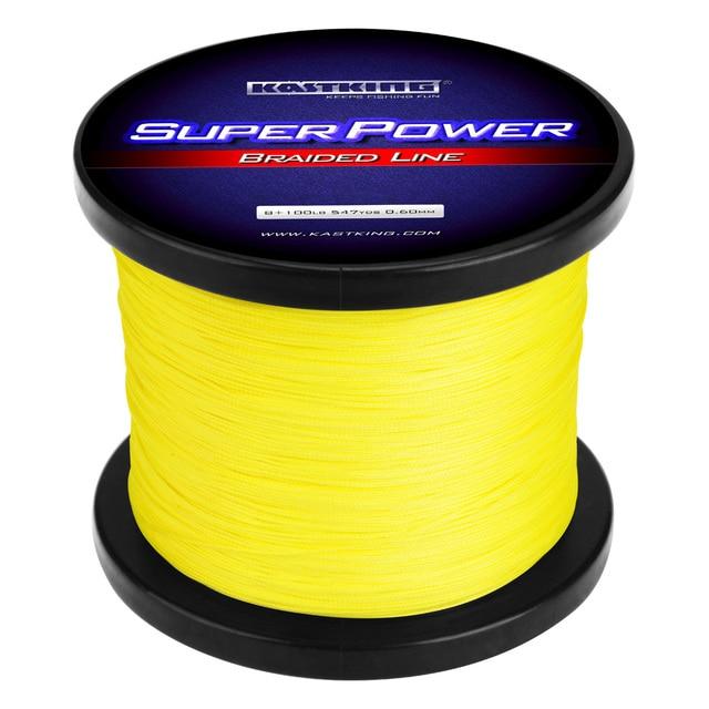 KastKing SuperPower – Paksu punottu siima 500 m