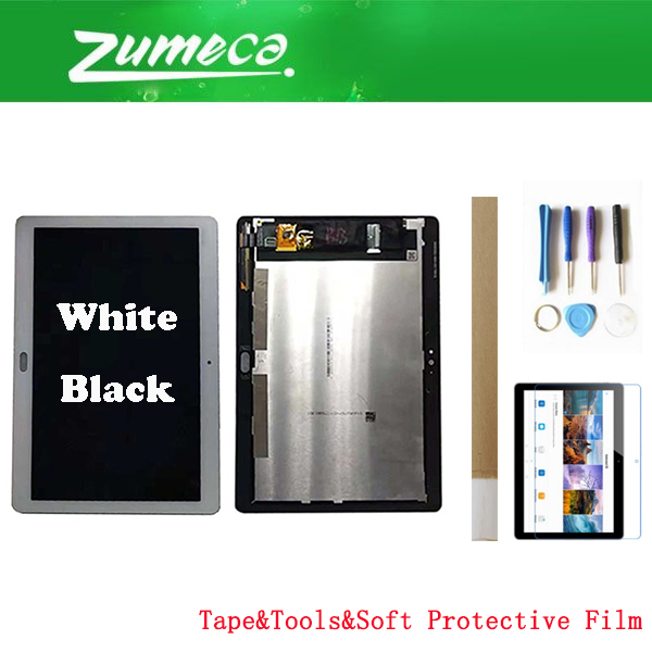 9.6 Inch For Huawei Mediapad T3 10 AGS L03 AGS L09 AGS W09 Huawei Mediapad T3 10 LCD Display+Touch Screen Digitizer 2 Color+Kits