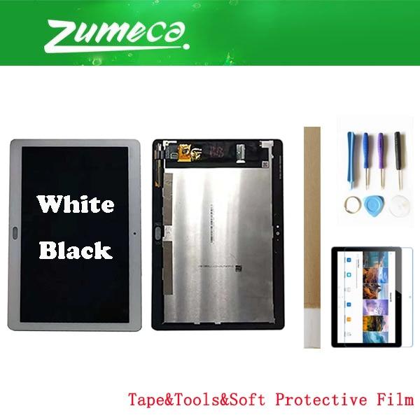 9.6 Pouces Pour Huawei Mediapad T3 10 AGS-L03 AGS-L09 AGS-W09 Huawei Mediapad T3 10 écran LCD + Numériseur À Écran Tactile 2 Couleur + Kits