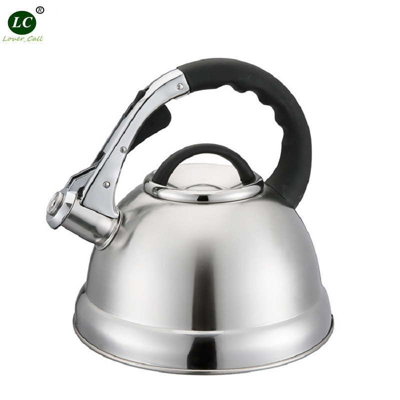 Whistling Kettle Thick bottom Stainless Steel Water Kettle Sound bubble Teapot kettle Cookware 3 Litre