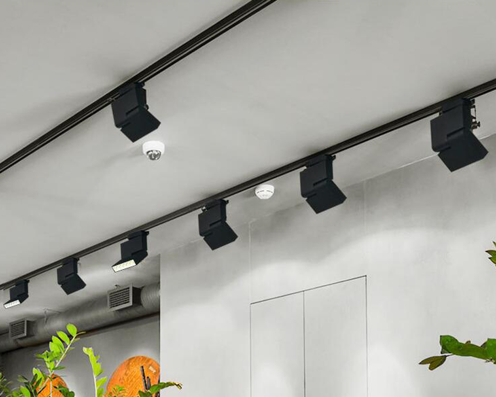 Track Light Led Can Be Adjusted Spotlight Wall Light Track Lighting For Shop Hotel Wall Decoration Black White