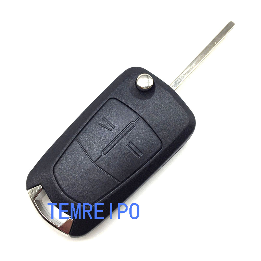 Car key for Opel Vectra C Astra H Corsa D Zafira 2 button replacement remote control key case fob 15 pin vga female to dvi d male adapter converter lcd h029
