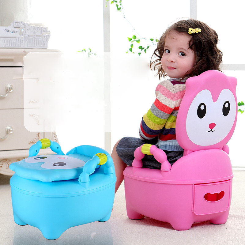 New Design Eco-friendly Bottle Grade Plastic Children Potty Training Toilet For Free Potty Brush