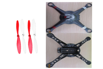 Wltoys Professional Drones Multicopter XK X380 FPV Spare parts Body shell +Propeller