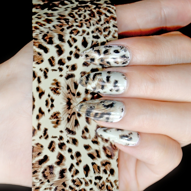 1 Roll 4100cm Nail Wholesale Products Nail Art Decal Leopard Nail