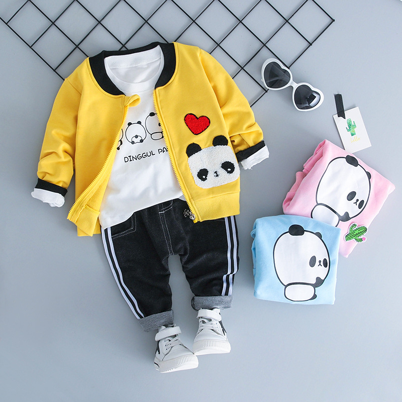 Mihkalev Todder baby girl clothes 2018 spring autumn jacket and coat for girls zipper cartoon clothing kids outerwear outfits
