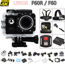 F60 / F60R  Remote Action camera Allwinner V3 4K WiFi  2.0 LCD 170D lens Helmet Extreme Cam go waterproof pro camera 1080P/60fps