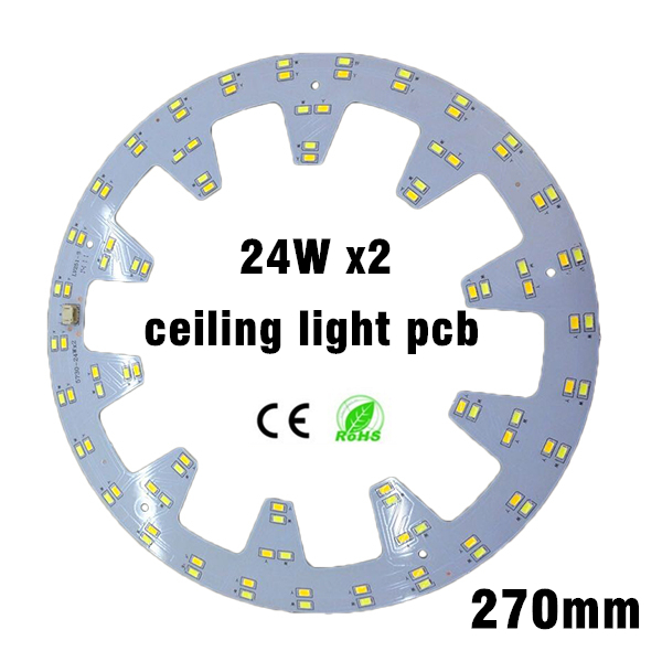 24w x2 ceiling light plate smd 5730 LED Ring Light Panel Remoulding pcb Retrofit Magnet Board With driver And magnet screw 20pcs 12w led light panel smd 5730 ic driver pcb input voltage ac110v 130v needn t driver aluminum plate free shippping