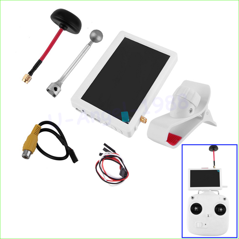Wholesale 1pcs Original 5-inch Super Bright Snow Screen FPV Aerial Transmitter for Sharp Vision Dropship wholesale 1pcs 5 8ghz fpv transmitter rf signal amplifier amp for airplane helicopter model