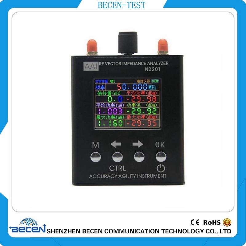 Inglese verison N2201SS n2201 137.5 m-2.7 ghz 137.5 mhz a 2.7 ghz UV RF Vector Impedenza ANT SWR antenna Analyzer Tester del Tester