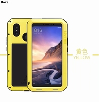 Original Love Mei Waterproof Case for Xiaomi Mi Max 3 Shockproof Rugged Case Metal Aluminum Cover