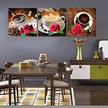 Cozinha modular de Imagens hd cópia da lona pinturas para a venda impressões tríptico pintura barato da arte abstracta imagem sem moldura