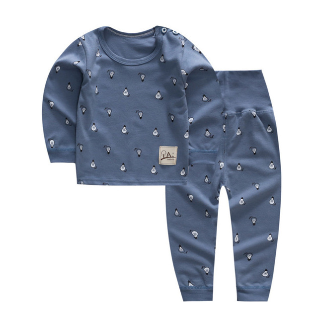 12M-4T Baby Boys Girls Clothes Casual Toddler Kids Clothes Two Piece 2018 Autumn New Design Girls Clothing Sets Baby Outfits