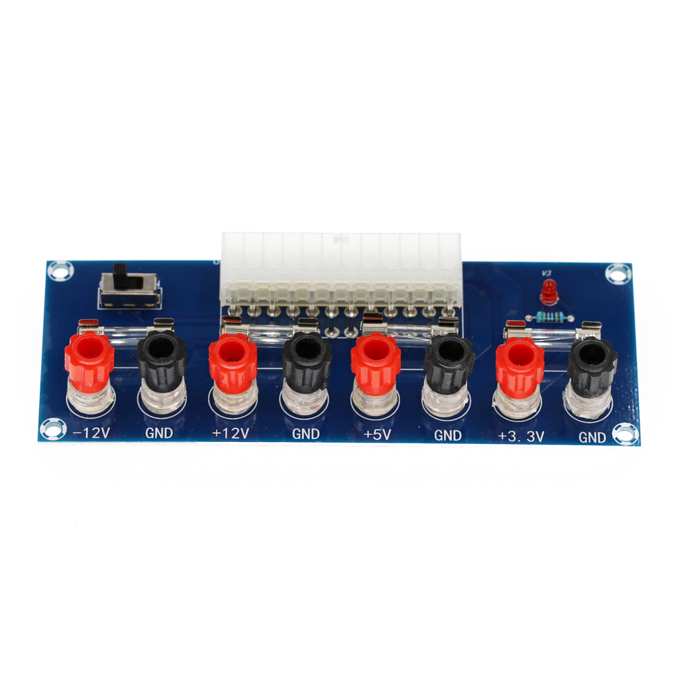 Transmission Computer Power Breakout Board Easy To Connect Multiple Output Channel Professional Home ATX Port High Efficiency