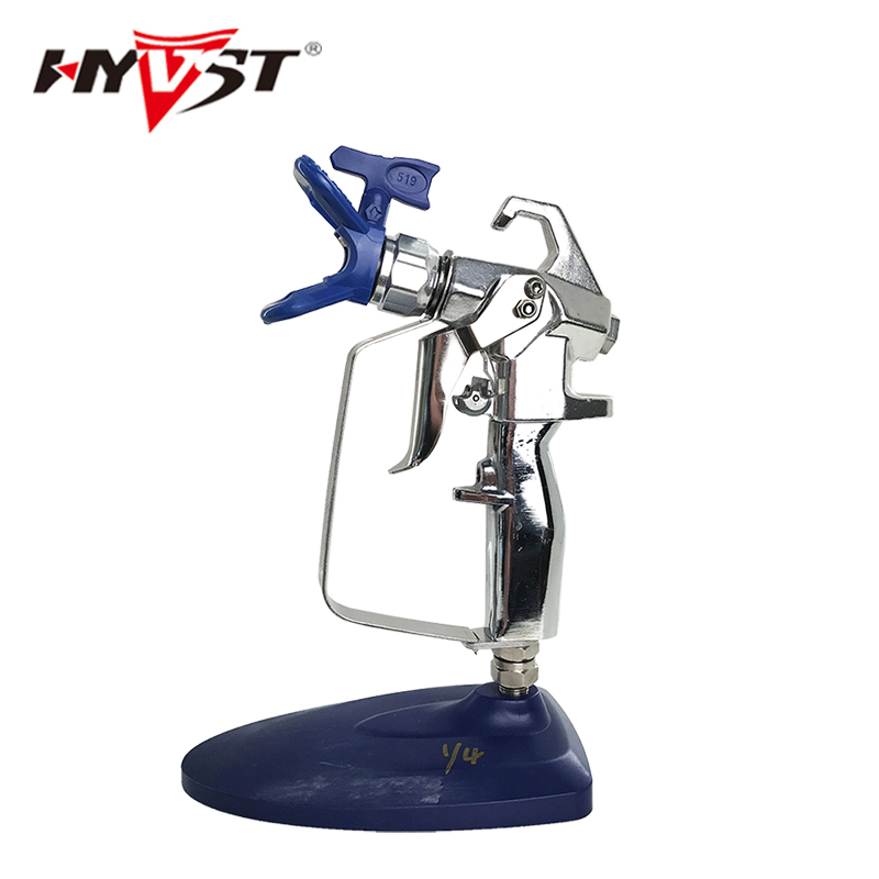High Pressure airless paint sprayer gun Contractor 2 finger with r517 tips airless paint spray gun