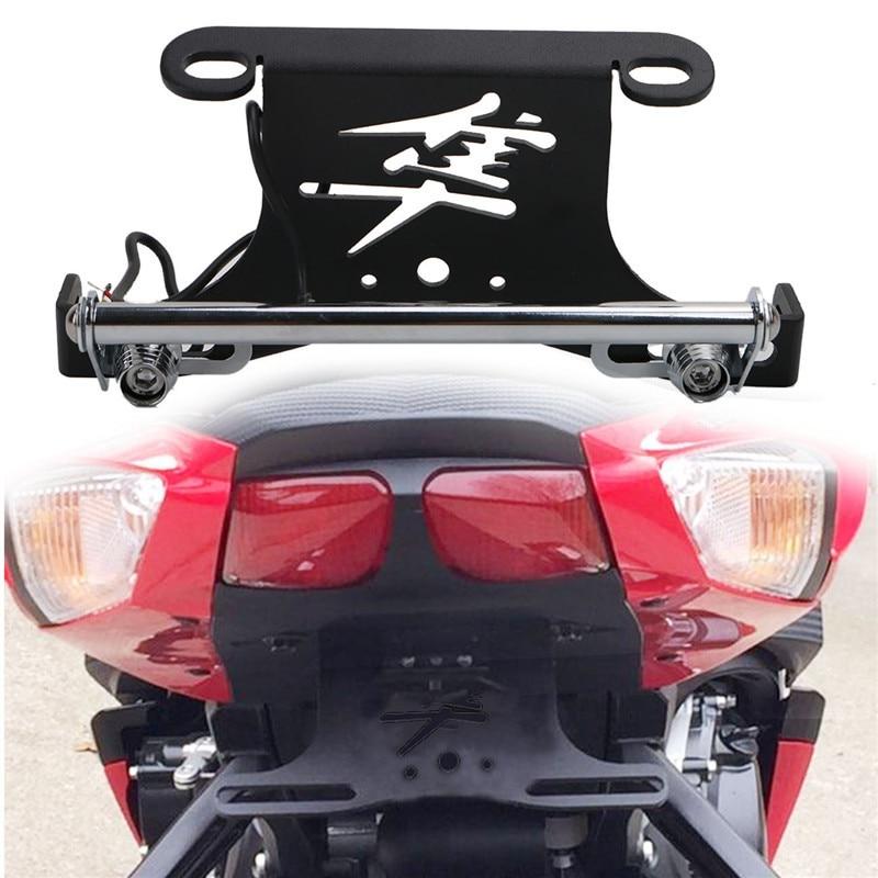 otorcycle Tail Tidy Fender Eliminator License Plate Holder LED Light for Suzuki Hayabusa GSX1300R SM Pl 2008--2016 /5 for suzuki gsx r600 k6 2006 2007 fender eliminator tail tidy holder motorcycle license plate bracket for suzuki gsxr750 k6