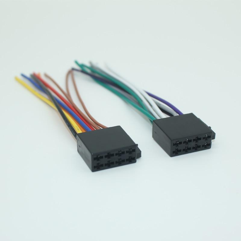 Universal Female Iso Radio Wire Wiring Harness Adapter
