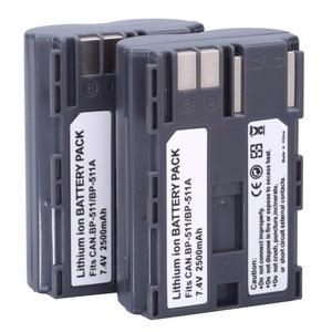 Image 4 - Hot sell 1pcs BP 511 BP511A Battery for Canon EOS 40D 300D 5D 20D 30D 50D 2500mAh, for canon accessories + wholesale