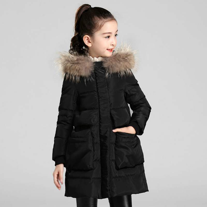 down jacket trade children's down jacket in the long section of the thickening of the export trade in children s down jacket boy windbreaker 2018children s windbreaker coat in the long section of self cultivation in the korean version of children s wear