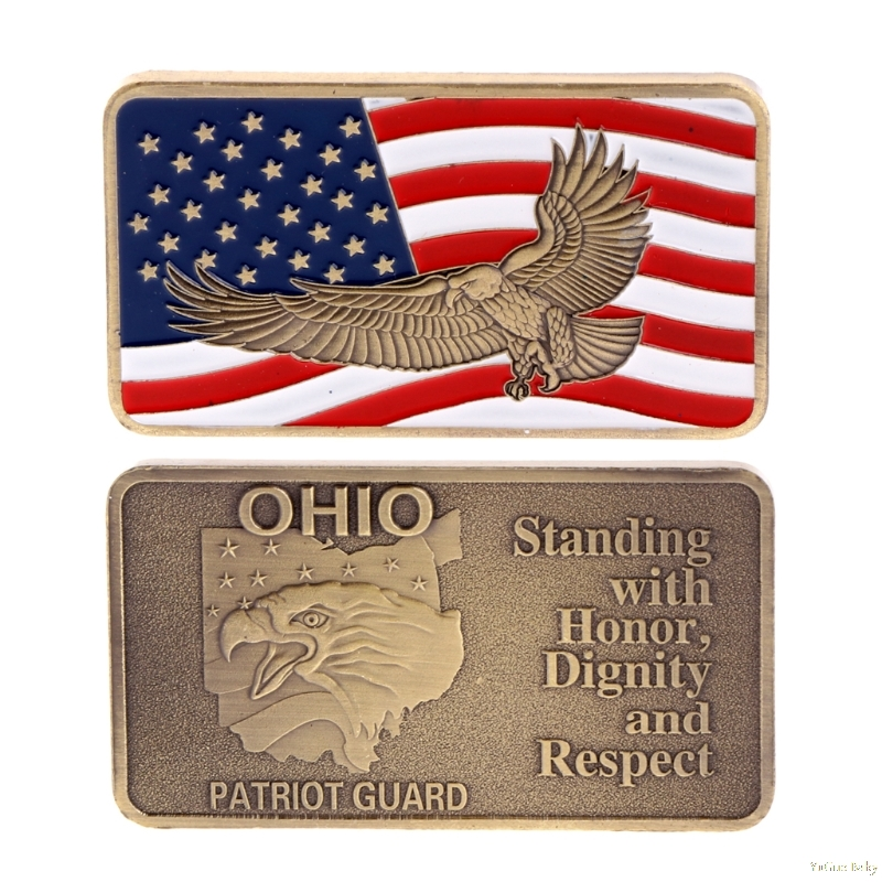 2018 Meaningful American Eagle Copper Plating Commemorative Challenge Coin Collection Zinc Alloy Noncurrent Coin