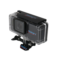 Extended Battery Housing Case for GoPro Hero 5 Hero 6 Battery Bacpac GoPro 2300mAh battery with Waterproof Housing Case for Go
