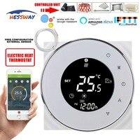 HESSWAY チュウヤ WIFI デジタル液晶暖房サーモスタット 16A 床暖房温度調整 Alexa Google ホーム