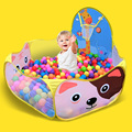 Barraca das crianças do bebê crianças casa de jogo tenda oceano piscina de bolinhas dos desenhos animados 120*120 cm crianças fun toy tendas ao ar livre (sem Bolas)