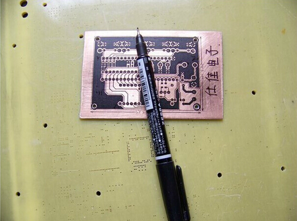 PCB Repair Pen For Ing Scratch Of The  Thermal Transfer   The Necessary Tool  Making DIY