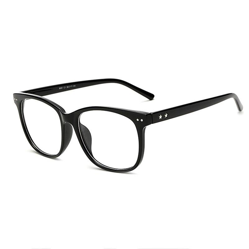 BINEYAE 8081 Fashion Women and Men Optical Eyeglasses Frame Full Rim Frame Plastic Tr-90 Stylish Decoration Glasses Frame bowtie decor blue black plastic full rim spectacles glasses eyeglasses frame
