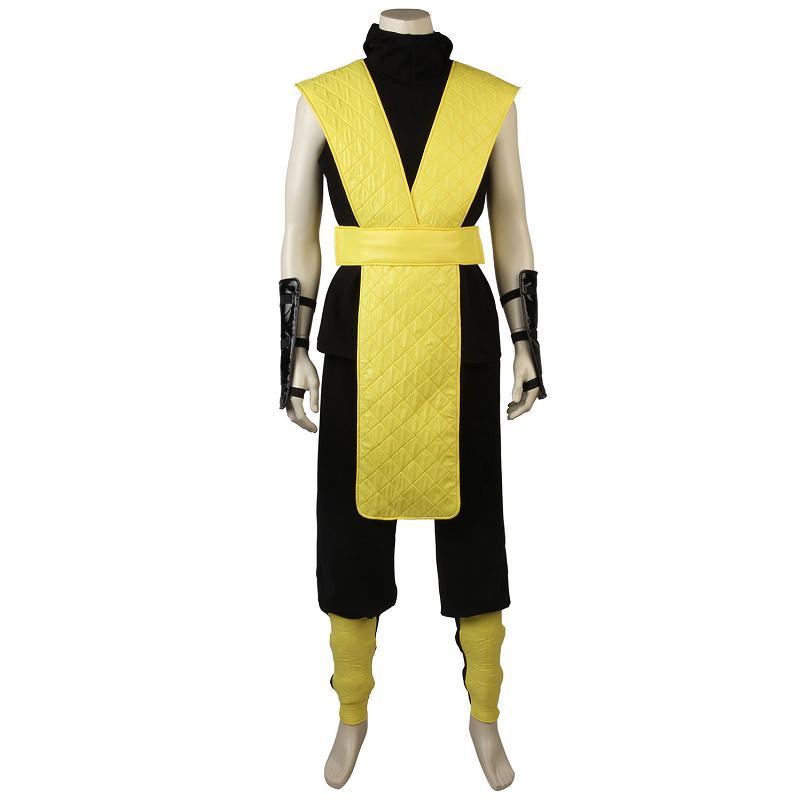 Mortal Kombat X Scorpion Cosplay Costume Jacket Game ...