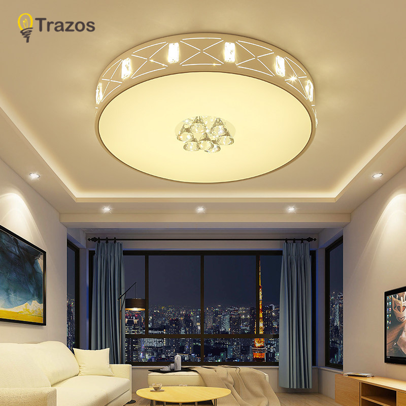 Modern ceiling lights for living room lamp Bedroom lamparas de techo colgante moderna with Remote controller ceiling lamp 2017 acrylic modern led ceiling lights fixtures for living room lamparas de techo simplicity ceiling lamp home decoration