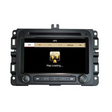 Free Shipping Car DVD Player GPS Navigation System For Dodge RAM 1500 2013 2014 2015 2016 Steering wheel control RDS BT Ipod