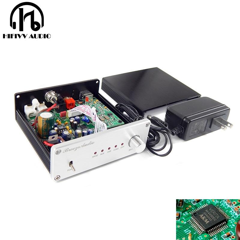ハイファイ DAC デコーダ AK4490 ak4493 AK4118 DAC サポート同軸光学 USB Bluetooth 入力 RCA 出力  グループ上の 家電製品 からの デジタル-アナログコンバータ の中 1