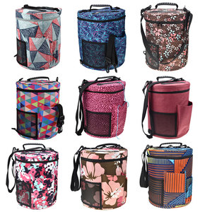 Image 5 - 13 Style Yarn Storage Bag With Mix 22pcs Crochet Hook Set Sewing Tools Accessories Knitting Needles Big Holder Yarn Bag