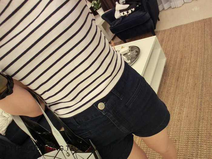 HTB1ZVYrLXXXXXaoXFXXq6xXFXXXZ - New Women T shirt Sexy Crop Tops Striped Short Sleeved