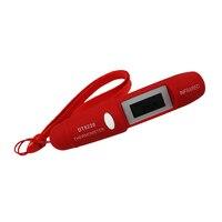 -50C ~ 220C Тип ручки Мини Инфракрасный термометр ИК температура измерения ЖК-дисплей измерительные приборы для домашнего использования