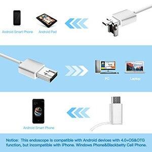 Image 3 - 3IN1 الأذن تنظيف USB المنظار كاميرا 5 ملليمتر البصرية الأذن ملعقة Earpick منظار الأذن كاميرا لالروبوت ويندوز