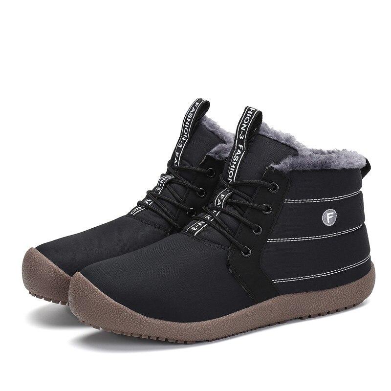 Hombre Militaire D'hiver bleu Hommes De Chaussures Homme Noir Nouvelle Neige Noël Botas Chaussons Plates Armée Bottes Boot Garçon Chaudes Fourrure OHBTHq