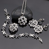Flower-Black-With-Cubic-Zirconia-925-Sterling-Silver-Jewelry-Sets-For-Women-Party-Earrings-Pendant-Necklace.jpg_200x200