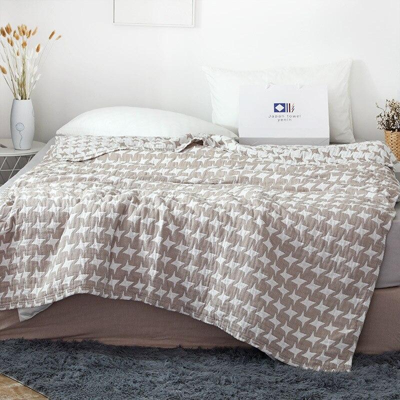 Junwell 100% хлопок муслин одеяло кровать диван путешествия дышащий шик килим стиль большой мягкий пледы одеяло Para|Одеяла|   | АлиЭкспресс