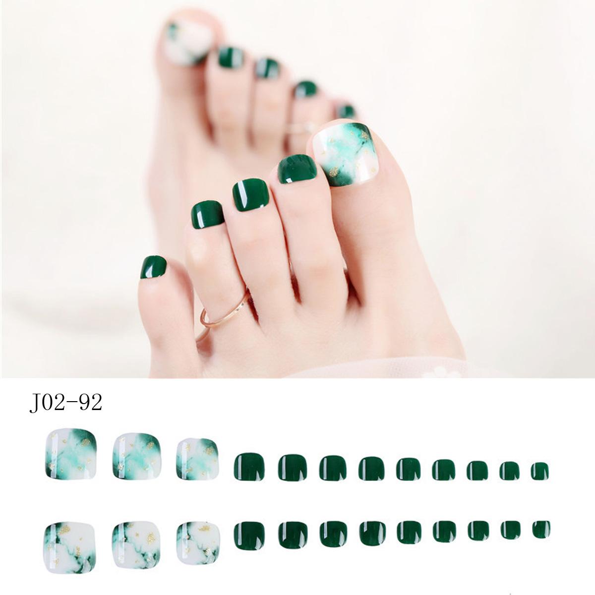 24 шт роскошные стразы с фальшивым носком для ногтей маникюрные