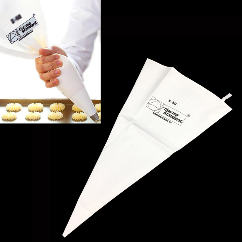 Buy 35/40/46/50/55/60cm Cotton Cream Pastry Icing Bag Baking Cooking Fondant Cake Decorating Tools Piping Bag for $1.28 in AliExpress store