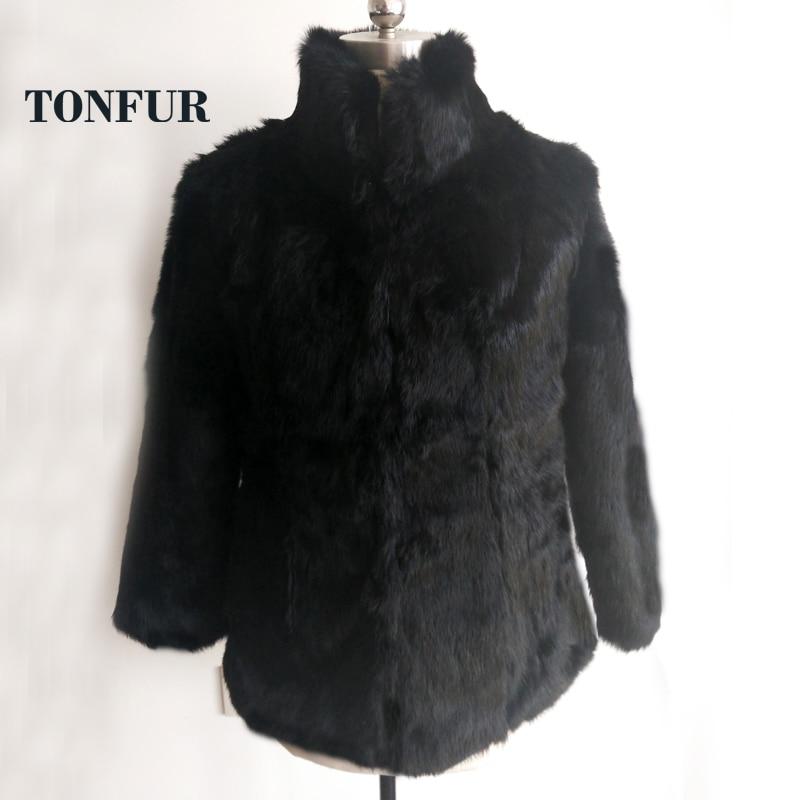 Plus En Outwear Manteau Gros Taille grey Personnaliser khaki Naturel Standard burgandy purple Véritable De Tsr111 Grande white Veste Black 2019 Col Pleine Fourrure Lapin nPXkN80wO
