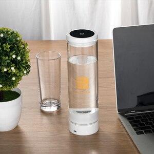 Image 5 - Wasserstoff Reiche Generator H2 Elektrolyse Alkalische Wasser Tasse 600ML USB Aufladbare Entgiften Pflegende Die Gesicht Anti Aging