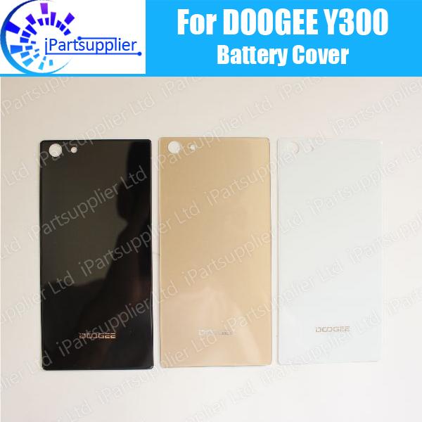 Doogee y300 substituição da tampa da bateria 100% original novo durável voltar case móvel acessório do telefone para doogee y300