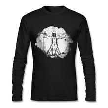 Leonardo Da Vinci Long Sleeve Men T-Shirt