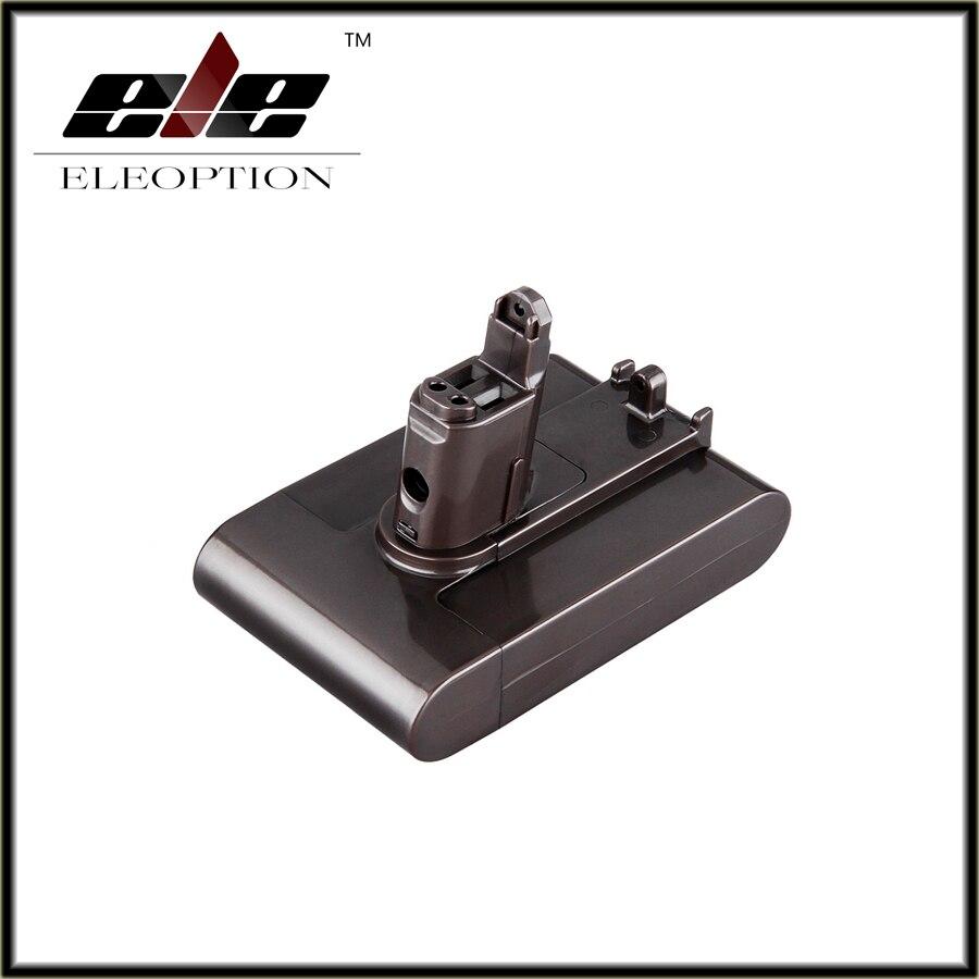 22.2 V 2.0Ah Li-Ion Eleoption Nouveau Remplacement Aspirateur Batterie Rechargeable Batterie Pack pour Dyson DC35 Type B 6-Cell